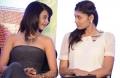 Surveen Chawla, Lasini at Moondru Per Moondru Kadhal Press Meet Stills