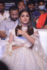 Actress Pooja Hegde @ Most Eligible Bachelor Pre Release Event Stills