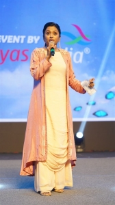 Anchor Suma @ Most Eligible Bachelor Pre Release Event Stills