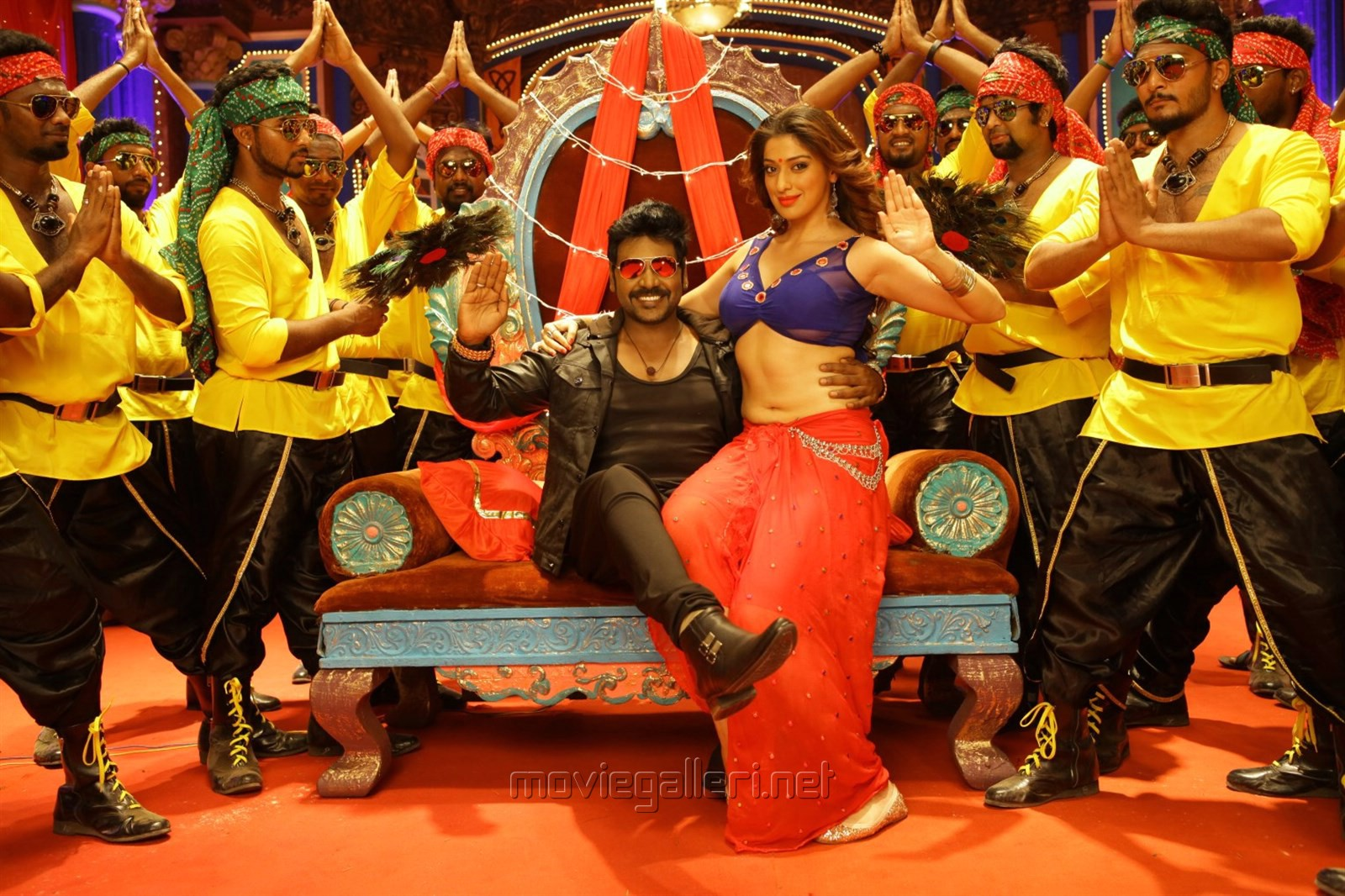 Actor Raghava Lawrence in Motta Siva Ketta Siva Movie Stills