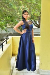 Actress Mouryaani Stills @ Law Telugu Movie Press Meet