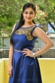 Love And War Movie Actress Mouryaani Photoshoot Stills in Blue Dress