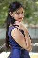 Love And War Movie Actress Mouryaani in Blue Dress Photoshoot Stills
