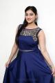 Love And War Movie Actress Mouryaani Photoshoot Stills in Blue Dress