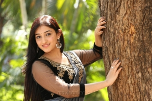 Actress Mouryaani HD Images @ LAW Movie Trailer Launch