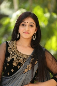 Actress Mouryaani Images HD @ LAW Movie Trailer Launch