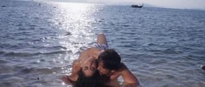 Regina, Gautham Karthik in Mr Chandramouli Hot Beach Song Images HD