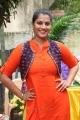 Actress Varalaxmi Sarathkumar @ Mr Chandramouli Movie Pooja Stills