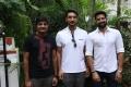 Sathish, Gautham Karthik, Santhosh Prathap @ Mr Chandramouli Movie Pooja Stills