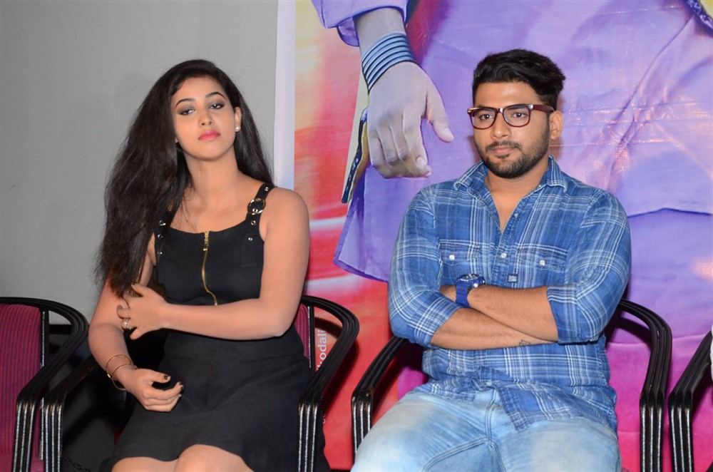 Pavani, Homanand @ Mr Homanand Movie Audio Launch Stills
