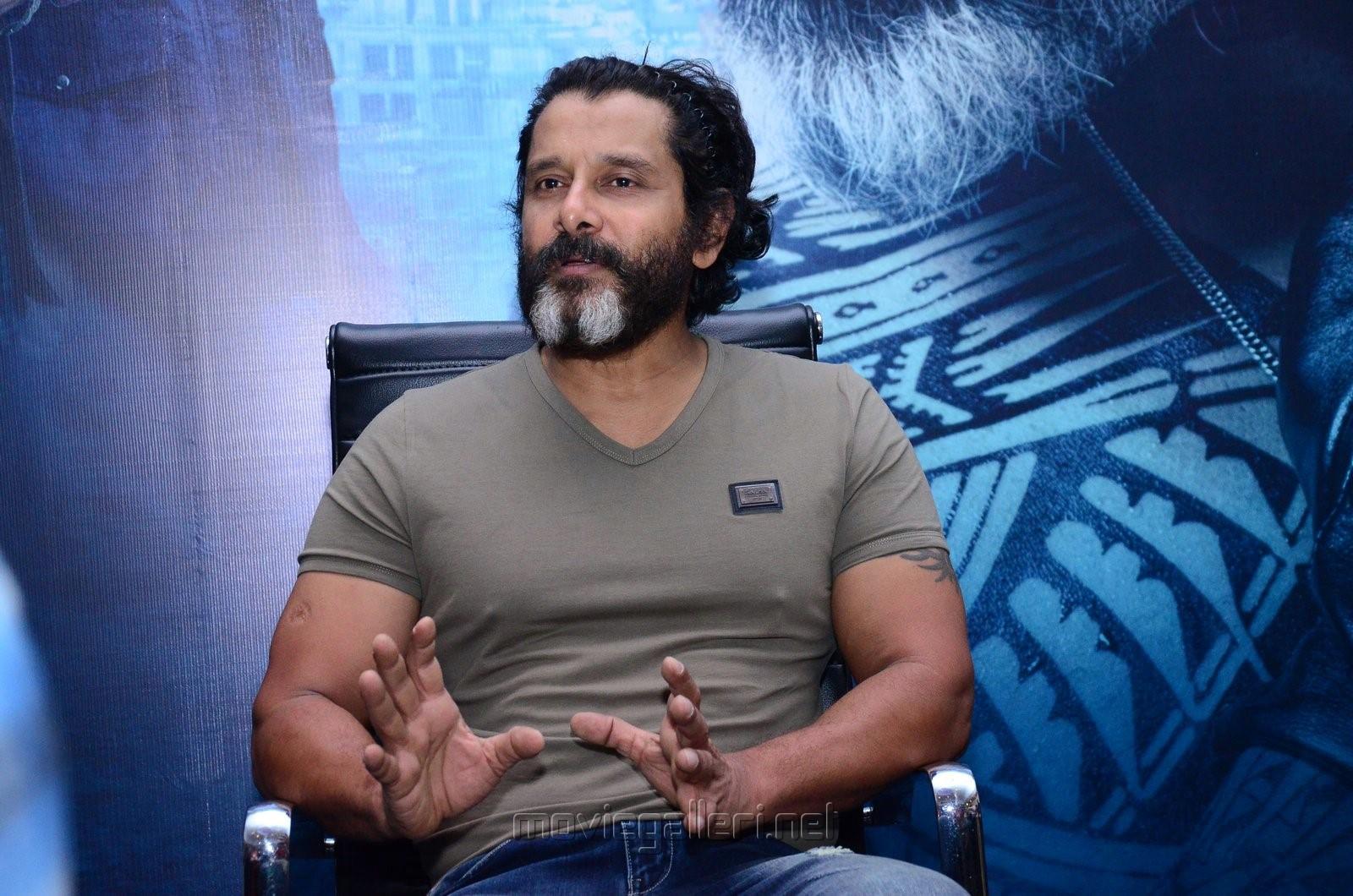 Kadaram Kondan Movie Hero Vikram Interview Photos
