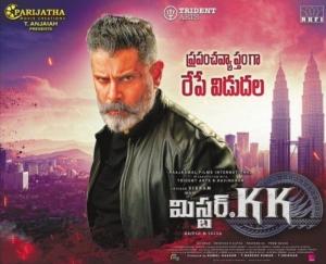 Vikram Mr KK Movie Release Posters