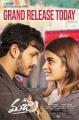 Akhil Akkineni, Nidhhi Agerwal in Mr Majnu Movie Release Today Posters