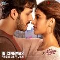 Akhil Akkineni, Nidhhi Agerwal in Mr Majnu Movie Release Posters