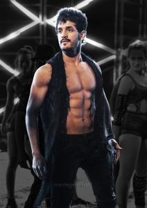 Actor Akhil Akkineni in Mr Majnu Movie Stills HD