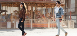 Nidhhi Agerwal, Akhil Akkineni in Mr Majnu Movie Stills HD