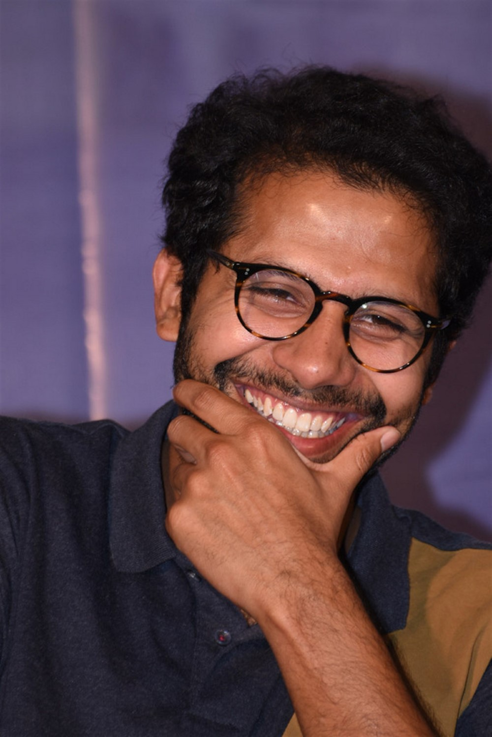 Director Venky Atluri @ Mr Majnu Movie Success Meet Stills
