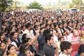 Akhil Akkineni @ Mr Majnu Movie Team @ ISTS Women's Engineering College Photos