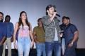 Nidhhi Agerwal, Akhil Akkineni @ Mr Majnu Team Theatre Coverage in Hyderabad