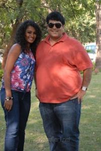 Sonia, Krishnudu at Mr Manmatha Movie On Location Stills