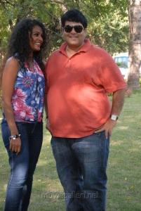 Sonia Deepti, Krishnudu at Mr.Manmadha On Location Stills