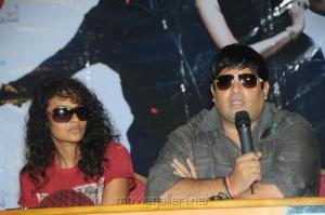 Sonia Deepti, Krishnudu at Mr.Manmadha Movie Release Date Announcement Stills