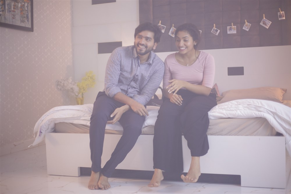 Sailesh Sunny, Gnaneswari Kandregula in Mr & Miss Movie Stills