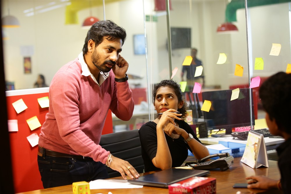 Director Ashok Reddy @ Mr & Miss Movie Working Stills