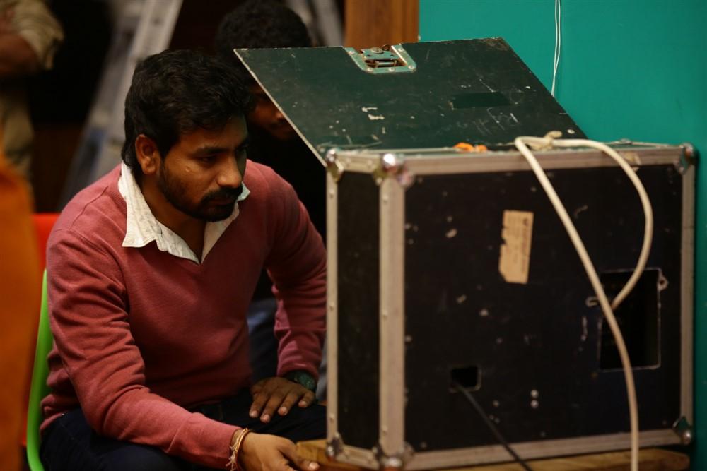 Ashok Reddy, Gnaneswari Kandregula @ Mr & Miss Movie Working Stills