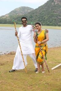 Prabhu Deva, Nikki Galrani in Mr Premikudu Movie Stills HD