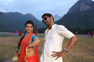Nikki Galrani, Prabhu Deva in Mr Premikudu Movie Stills HD