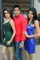 Sony Charishta, Akash, Simran at Mr Rajesh Movie Press Meet Stills