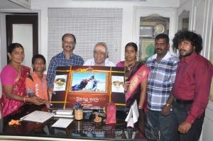 MS Viswanathan launces Chozha Nadu Movie Audio CD