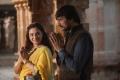 Nithya Menon, Sudeep in Mudinja Ivana Pudi Movie Images
