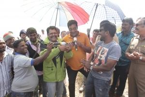 KS Ravikumar, Sai Ravi, Kanal Kannan @ Mudinja Ivana Pudi Team Pongal Celebrations Stills