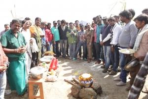 Mudinja Ivana Pudi Movie Team Pongal Celebrations Stills
