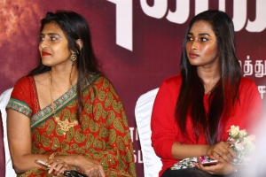 Kasthuri, Pon Swathi @ Mudivilla Punnagai Audio Launch Photos