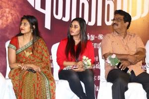 Kasthuri, Pon Swathi, Livingston @ Mudivilla Punnagai Audio Launch Photos