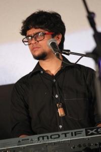 Music Director K at Mugamoodi Audio Launch Stills
