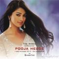 Pooja Hegde as Shakthi in Mugamoodi Songs Release Invitation Posters