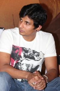 Actor Jiiva at Mugamoodi Press Meet Stills