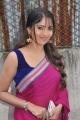 Actress Muktha Bhanu Hot Photos in Dark Pink Saree