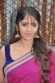 Actress Muktha George Hot Photos in Dark Pink Saree