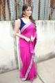 Tamil Actress Muktha Bhanu in Pink Saree Photos