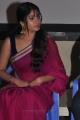 Actress Muktha Bhanu Hot Pink Saree Photos