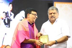 Y. G. Mahendran, GK Vasan @ Muktha Films 60th Year Celebrations Photos