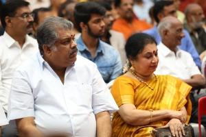 GK Vasan, Sudha Mahendra @ Muktha Films 60th Year Celebrations Photos