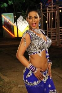Mumaith Khan Hot Item Song Pics in Arya Surya Movie