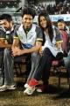 Genelia D'Souza, Ritesh Deshmukh at CCL 2 Match Stills