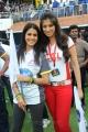 Genelia, Lakshmi Rai at CCL 2 Semi Final Match Stills